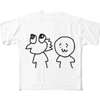 やきうとげんじゅうみん Full graphic T-shirts
