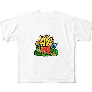 ポテトハウス Full graphic T-shirts