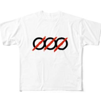 ØØØ Scarlet  Full graphic T-shirts