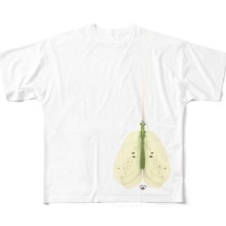 イオンのトイレで見つけた虫 Full graphic T-shirts