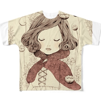 赤ずきん Full graphic T-shirts