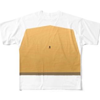 クソデカ歩 Full graphic T-shirts