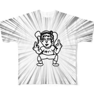 神ゲー Full graphic T-shirts