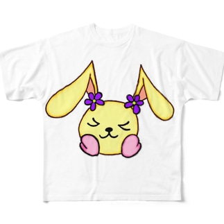 心の妖精 ココロン Full graphic T-shirts