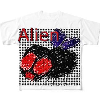ありはえ Full graphic T-shirts