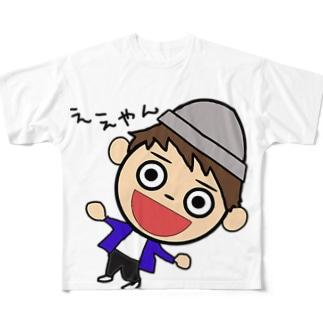ええやん姫路なべちゃん Full graphic T-shirts