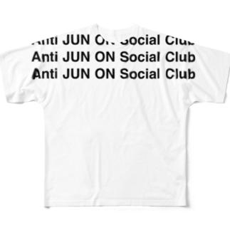 Anti JUN ON Social Club のAnti JUN ON Social Club Full graphic T-shirts