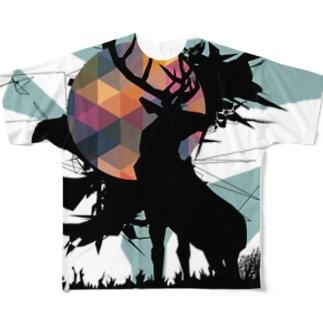 North Full graphic T-shirts
