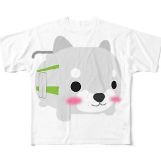 柴とれ(黄緑) Full graphic T-shirts