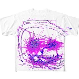 ベクトルの悪魔 Full graphic T-shirts