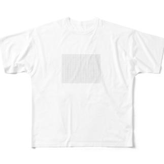 一六キュー Full graphic T-shirts