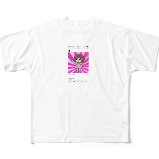 シニカルヒステリーアワーちゃん Full graphic T-shirts