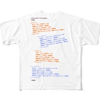 つぶやきXML_New Full graphic T-shirts