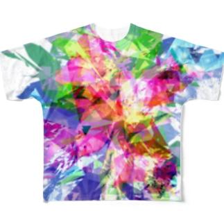 ばばばばーん!!!! Full graphic T-shirts