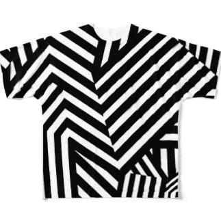 ダズル迷彩 バージョン2 Full graphic T-shirts