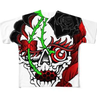 Cherry girl Full graphic T-shirts