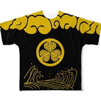 コーモン様 Full graphic T-shirts