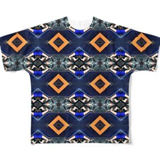 フィリピンのトラックと、運ちゃんの手 Full graphic T-shirts