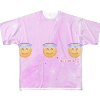 ぴるぴるてんしちゃん Full graphic T-shirts