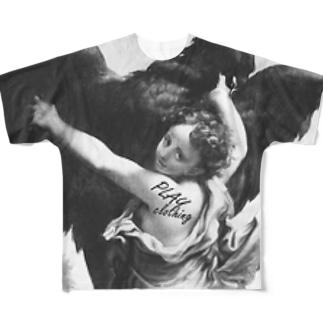 ART KIDNAPPER ① Full graphic T-shirts