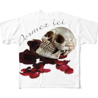Dormez ici Full graphic T-shirts