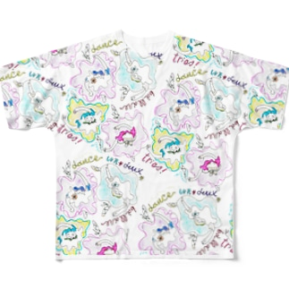バレリーナ フルグラフィックTシャツ