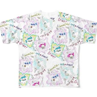 バレリーナ Full graphic T-shirts