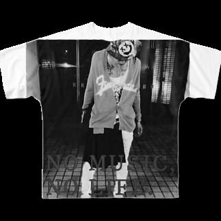 """真広""""crow""""のNMNL 1st """"枯渇の繭"""" Full graphic T-shirts"""