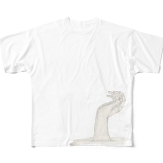 spilt water Full graphic T-shirts