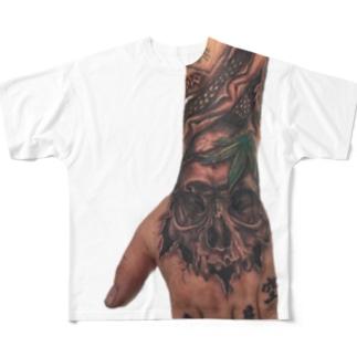 ミギー フルグラフィックTシャツ