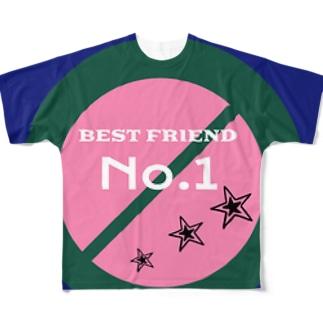 べスフレくん Full graphic T-shirts