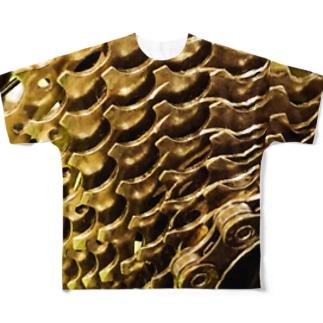 スプロケ105 Full graphic T-shirts