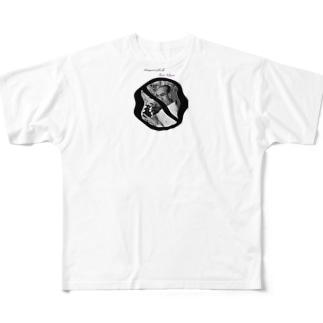 人生の主役 Full graphic T-shirts