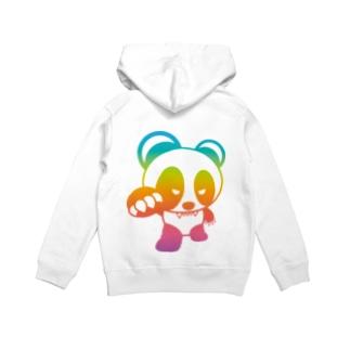 BASEfor PANDA Rainbow Hoodies