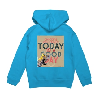 Today is a good day カカオ&シトラス Hoodies