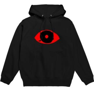 赤目 Hoodies