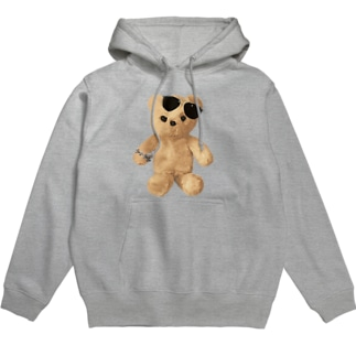 Teddy with Glasses Hoodies