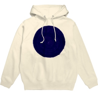 SAIWAI DESIGN STOREのone blue hole Hoodies