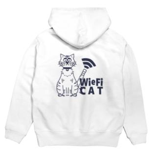 WieFi CAT(ウィーフィーキャット)  Hoodies