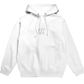 VK ロゴ ライトグレイ Hoodies