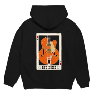 FIFTY-FOUR LIFE IS ROCK Hoodies