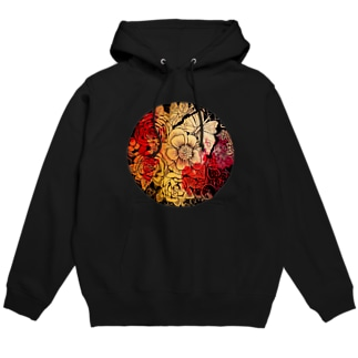 ASH_gardenのMagical Flower Hoodies