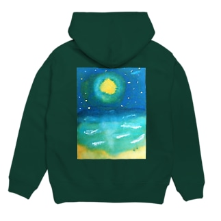 sea the moon Hoodies