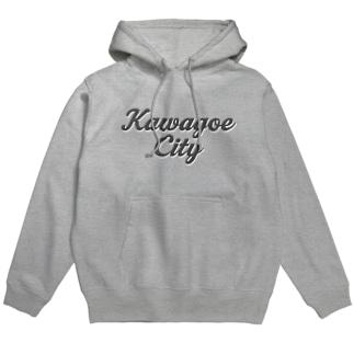 KAWAGOE CITY Hoodies