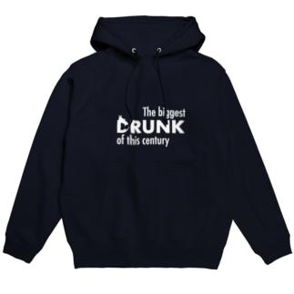 DRUNK : 今世紀最大にキマった Parker Hoodies