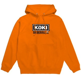 「KOKI BASEBALL」 Hoodies