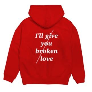 broken / love ~1~ Hoodies
