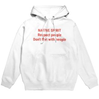 NATIVE SPIRIT Hoodies