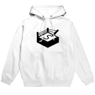 札幌オーギリングロゴ(黒) Hoodie