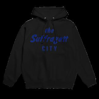 ShineのSUFFRAGETT CITY フーディ